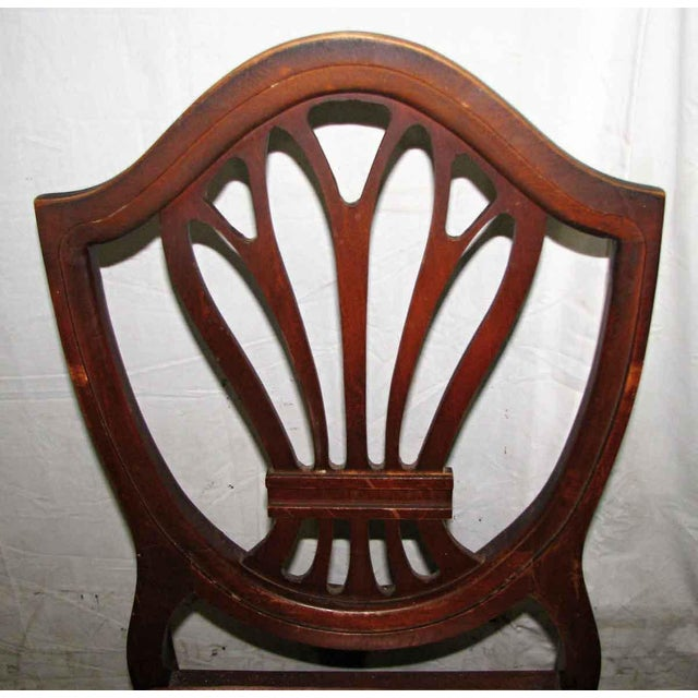 Early 20th Century Classic Mahogany Dining Chairs - Set of 6 For Sale - Image 5 of 12
