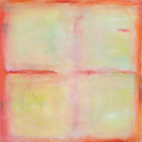 """""""Centering"""" Abstract Acrylic Painting For Sale"""