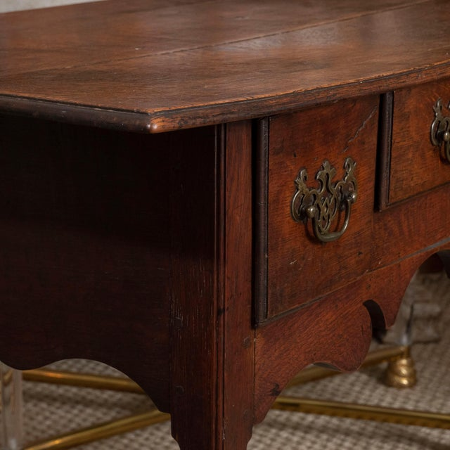 18th Century English Oak Side Table For Sale In New York - Image 6 of 10