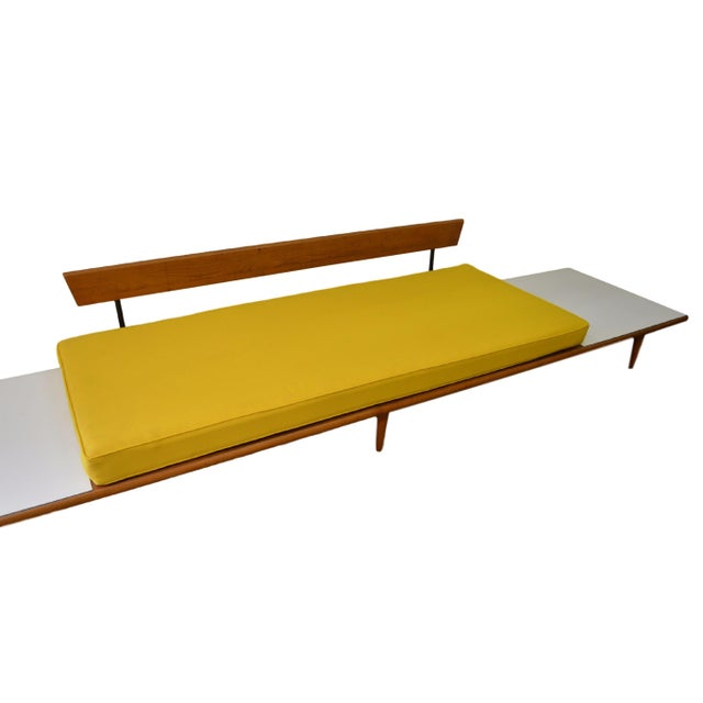 Mid Century Modern Sofa with New Upholstery - Image 4 of 5