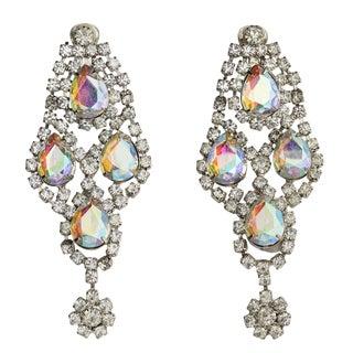 Huge Rhinestone Earrings For Sale
