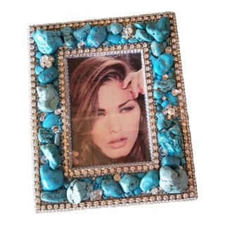 Ferrare with Company Crystal Turquoise Frame