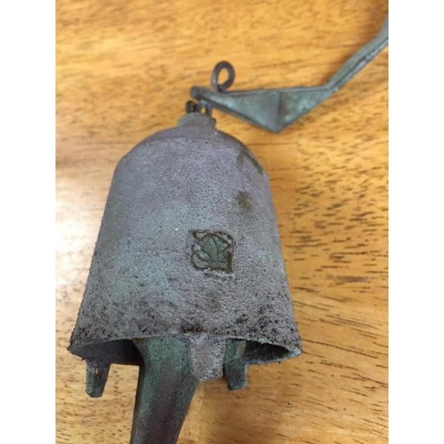 Paolo Soleri Bronze & Copper Fin Wind Bell - Image 8 of 11