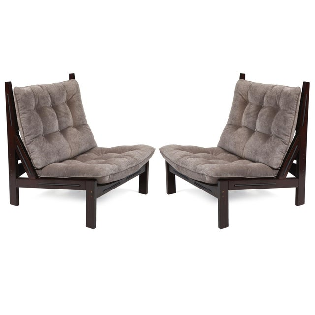 Illum Wikkelso Scale Lounge Chairs - A Pair - Image 2 of 6