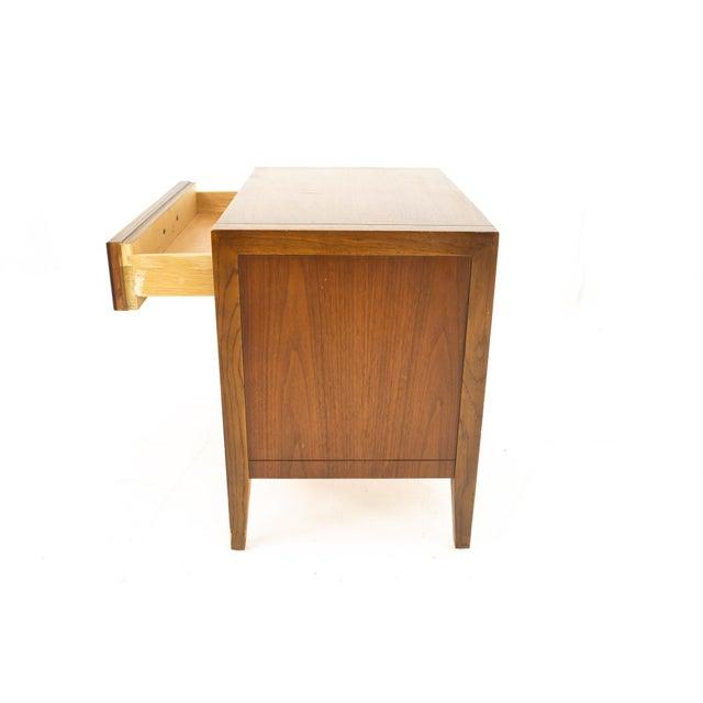 Drexel Mid Century Walnut Nightstand For Sale - Image 9 of 13