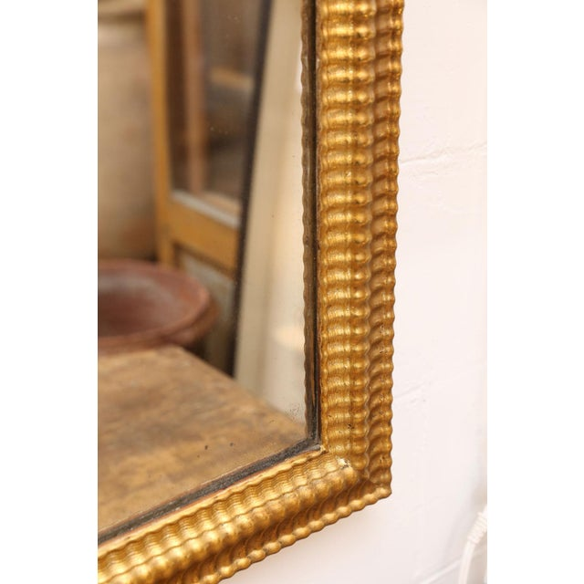Louis XVI Gilded Mirror For Sale In Houston - Image 6 of 8