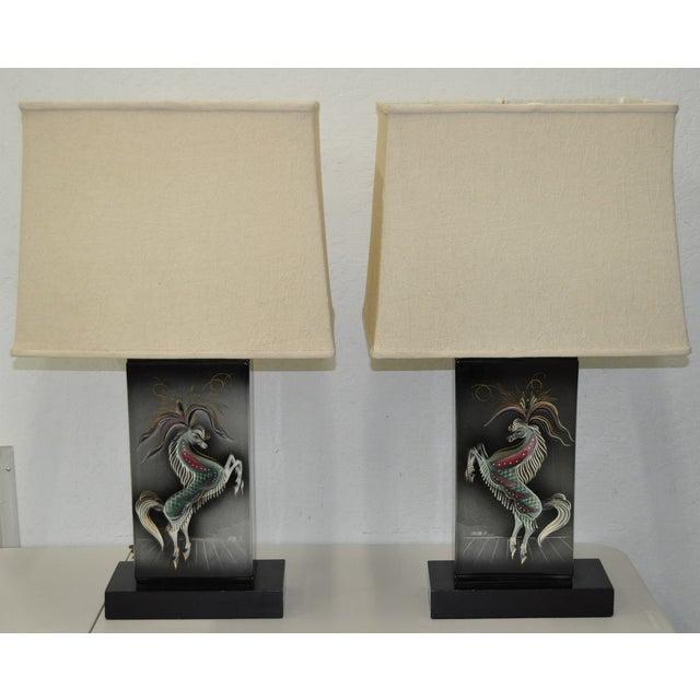 Sascha Brastoff Mid-Century Modern Lamps - Image 2 of 10