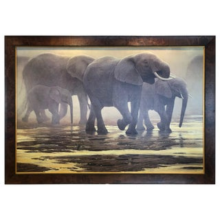 """Limited Edition """"By the River"""" Painting by Robert Bateman For Sale"""
