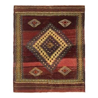 Rug & Relic Vintage Balikesir Kilim | 3'10 X 4'7