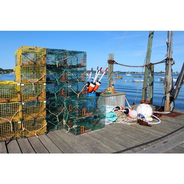 Realism Lobster Traps Photograph by Josh Moulton For Sale - Image 3 of 3