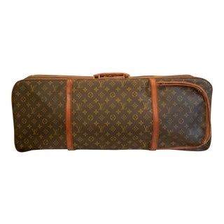 1960s Vintage Louis Vuitton Valise Tennis Luggage Case For Sale