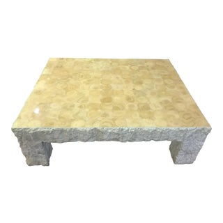 Maitland-Smith Tessellated Stone Cocktail Table For Sale