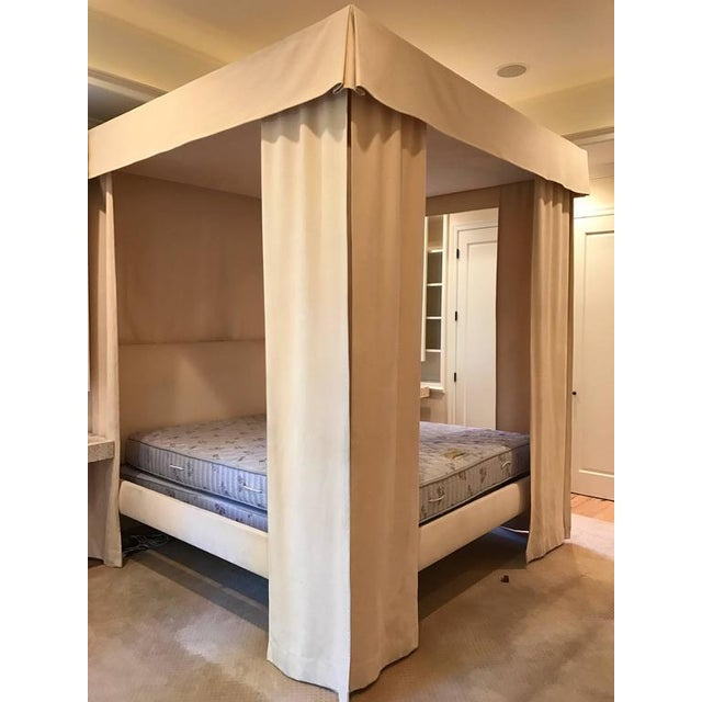 Incomparable Michael Taylor Canopy Bed - Image 8 of 9