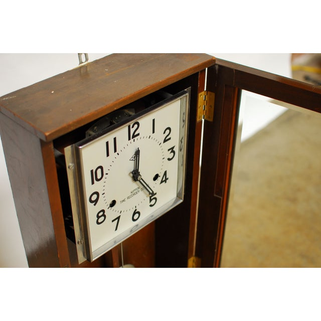 Asian Nippon Time Recorder Punch Clock For Sale - Image 3 of 8
