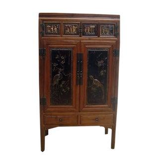 Crane & Phoenix Motif Cabinet