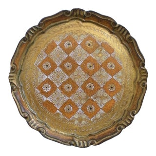 Florentine Tray For Sale