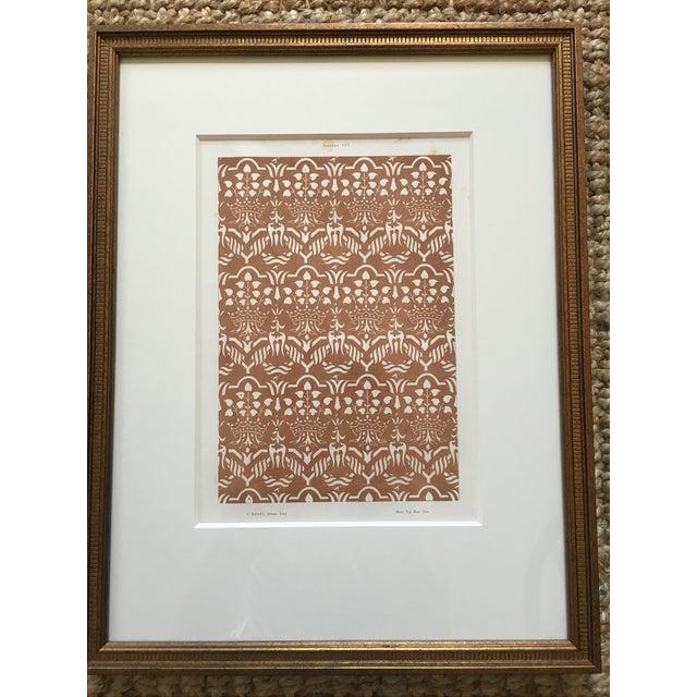 Framed Book Plate Pattern Prints - Set of 6 For Sale - Image 4 of 10