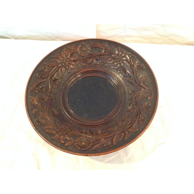 Antique Carved Wood Bowl - Image 3 of 6