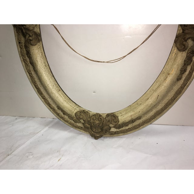 Victorian Wood & Gesso Oval Frame - Image 6 of 7