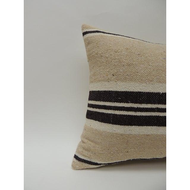 Vintage African woven tribal artisanal textile decorative pillow Tunisian vintage artisanal tribal textile decorative...