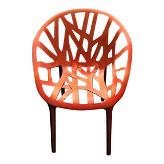 Modern Red Vegetal Ronan and Erwan Bouroullec for Vitra Chair For Sale