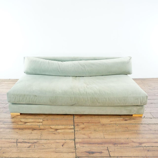 Textile CB2 Piazza Storm Upholstered Sofa For Sale - Image 7 of 7