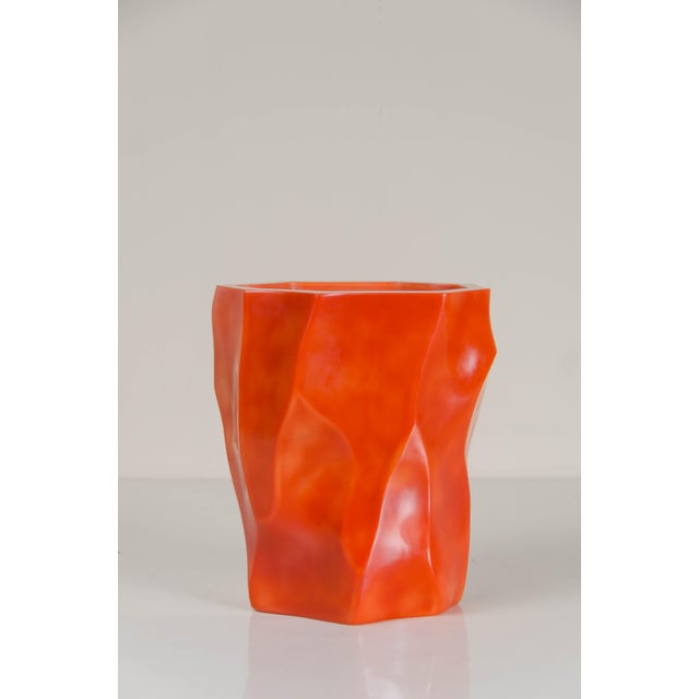 Bamboo Shaven Vase by Robert Kuo For Sale - Image 9 of 9