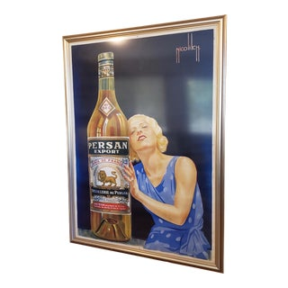 """Vintage 1920s French """"Persan Export"""" Poster by Nicolitch For Sale"""