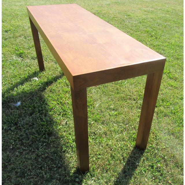 Mid-Century Modern Teak Sofa /Hall Table Signed Paine's Furniture For Sale In Boston - Image 6 of 10