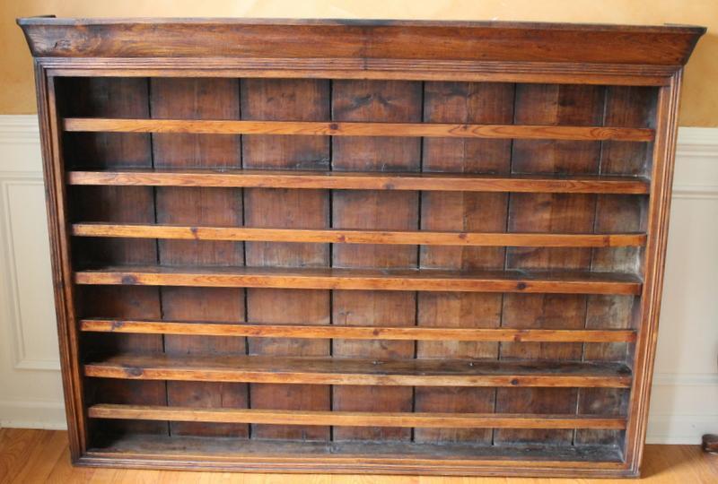 Antique English Walnut Plate Rack - Image 2 of 9  sc 1 st  Chairish & Antique English Walnut Plate Rack | Chairish