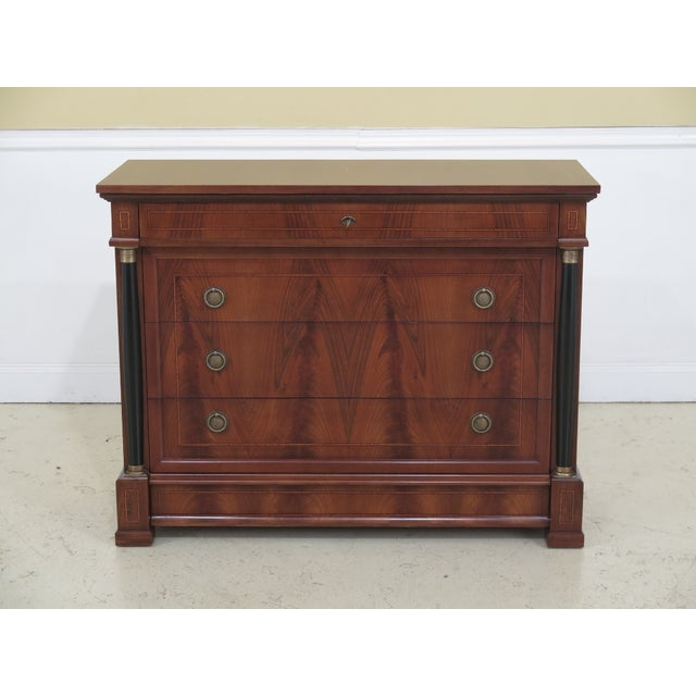 Decorative Crafts Italian Walnut Chest For Sale - Image 13 of 13
