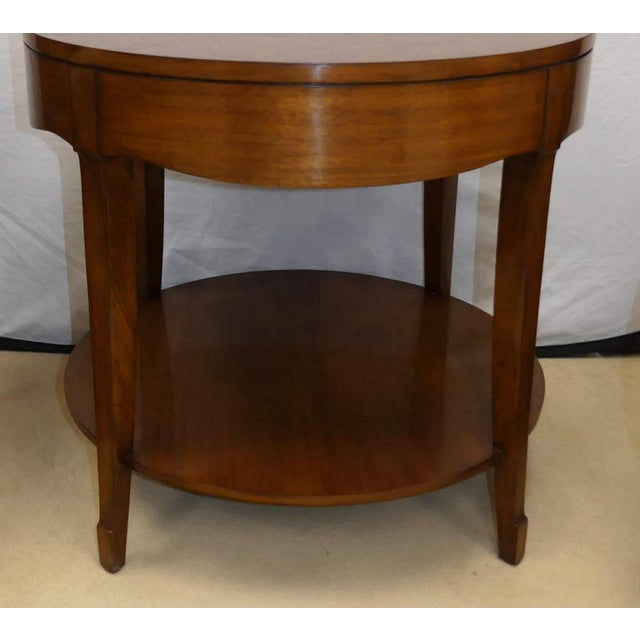 Traditional Barbara Barry Skirted Accent or End Table For Sale - Image 3 of 9