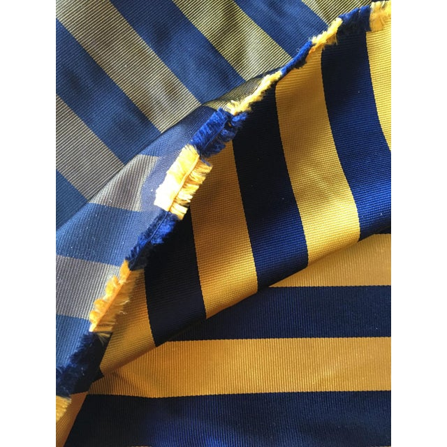 Americana Moving Sale - Make and Offer - Everything Must Go - Ralph Lauren Tie Silk in a Classic Club Stripe For Sale - Image 3 of 4