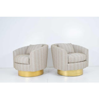 Bernhardt Swivel Lounge Chairs- a Pair Preview