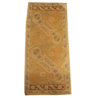 Oushak Design Vintage Rug, 3' X 2' For Sale