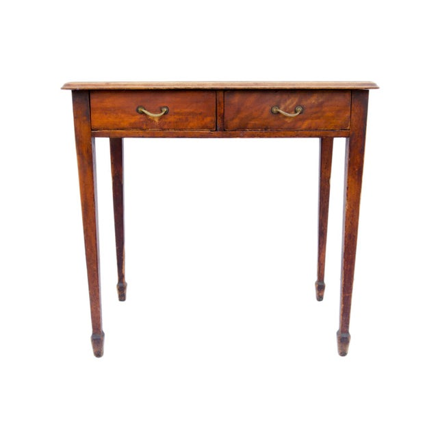 Antique Cherry Desk or Dressing Table - Image 2 of 8 - Antique Cherry Desk Or Dressing Table Chairish