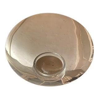 Nan Powell Silver Plate Caviar Server - 3 Pc. For Sale