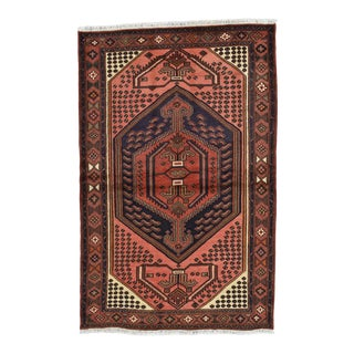 Vintage Persian Hamadan Rug For Sale