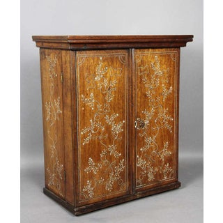 Anglo-Indian Rosewood Cabinet Preview