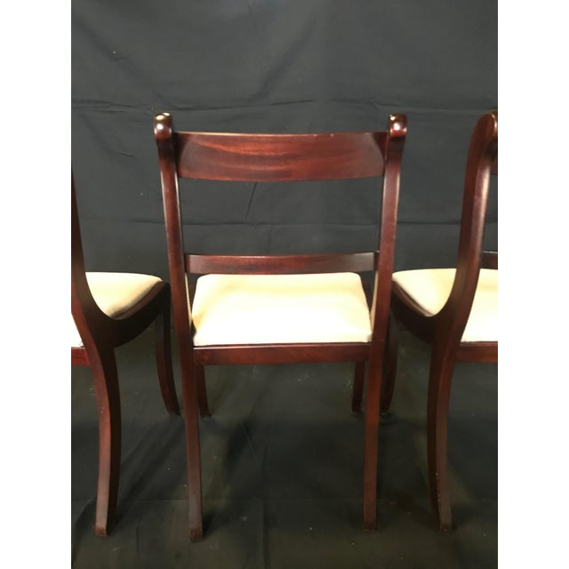 Metal Early 19th Century Regency Dining Chairs- Set of 4 For Sale - Image 7 of 13