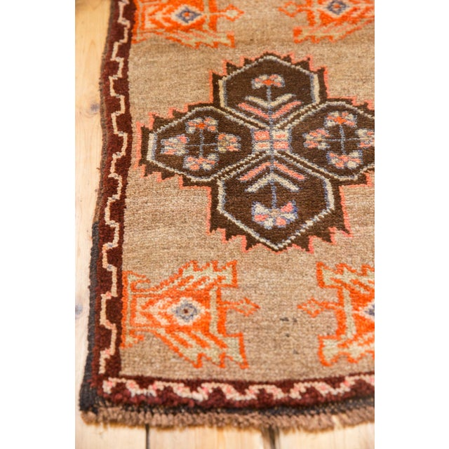 "Vintage Oushak Rug Mat - 1'7"" X 2'9"" For Sale In New York - Image 6 of 7"