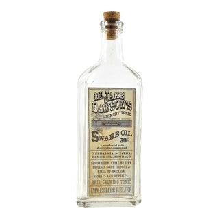Vintage Snake Oil Remedy Bottle