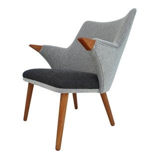 Danish Design by MoNo Creativity, Newly Produced, Wool Fabric, Oak Wood For Sale