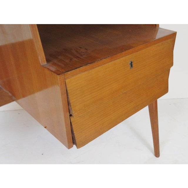 1950's Italian Desk in the Manner of Ponti - Image 3 of 4