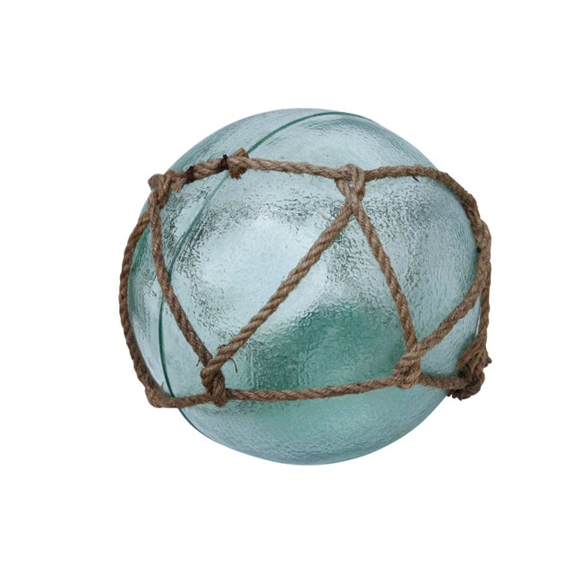 Large Hand Blown Glass Fishing Floats, Set of 3 For Sale In New York - Image 6 of 11