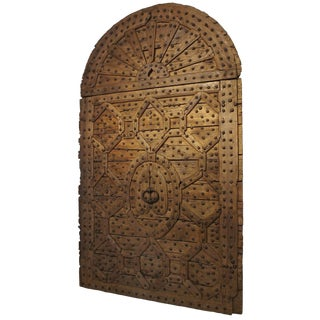 Magnificent 17th Century Monastery Door from Spain