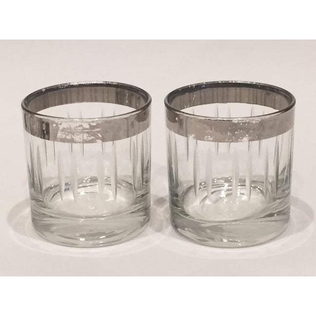 Silver Rim Cordial Glasses - Set of 6 - Image 4 of 4