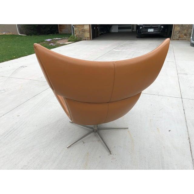 Modern BoConcept Imola Chair & Ottoman For Sale - Image 3 of 7