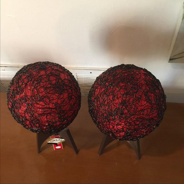 Gilbert Creation Vintage Spaghetti Lamps - A Pair For Sale In San Antonio - Image 6 of 8
