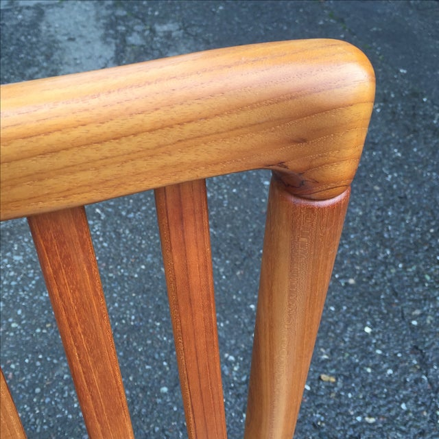 Teak Chairs by Benny Linden - Set of 6 - Image 8 of 11